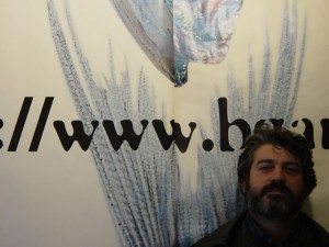 il primo manifesto con un URL in Italia